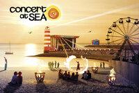 Rietmatten op Concert at Sea
