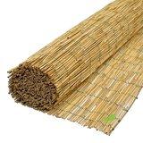 Rietmatten 160x600 van gepeld riet